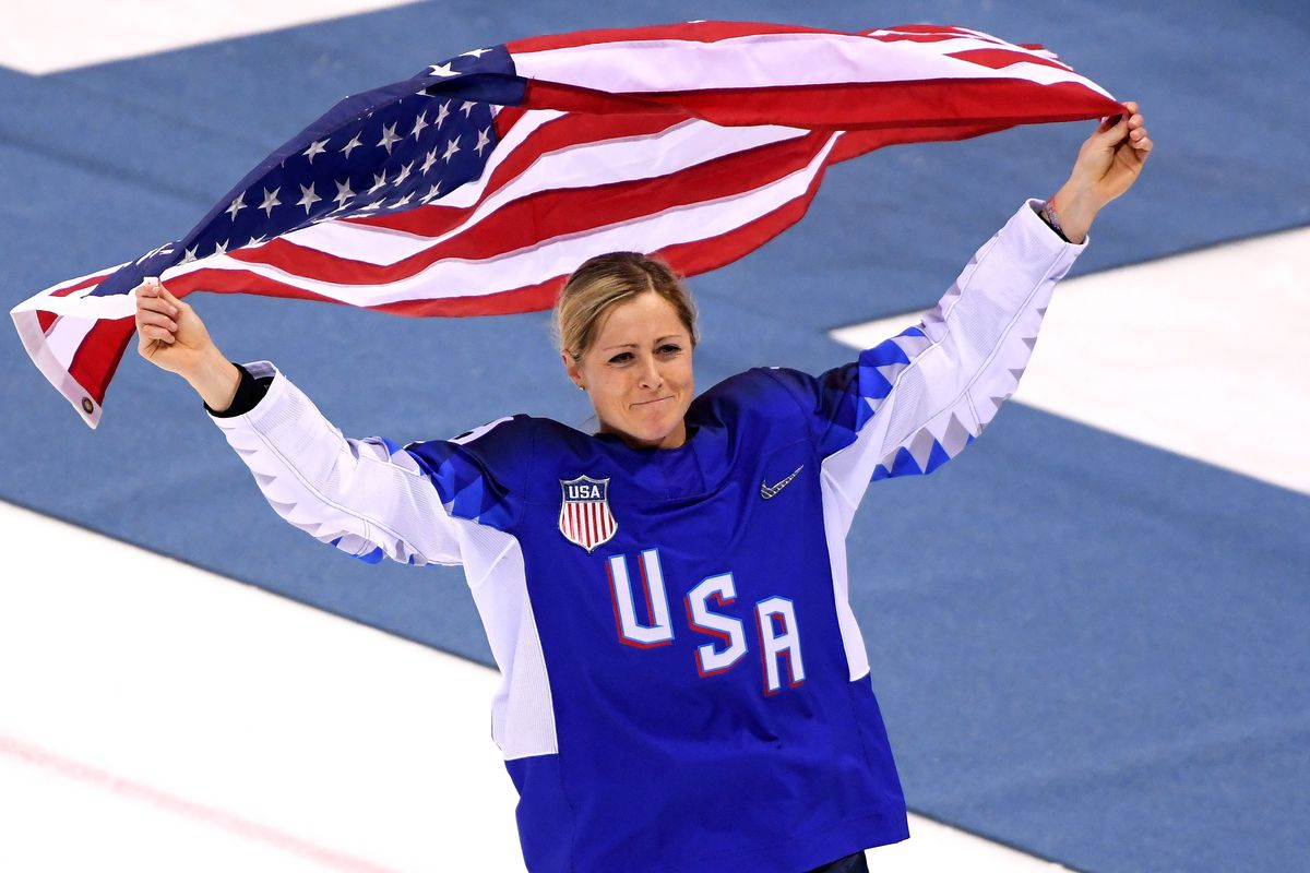 Gigi Marvin of Team USA women's hockey