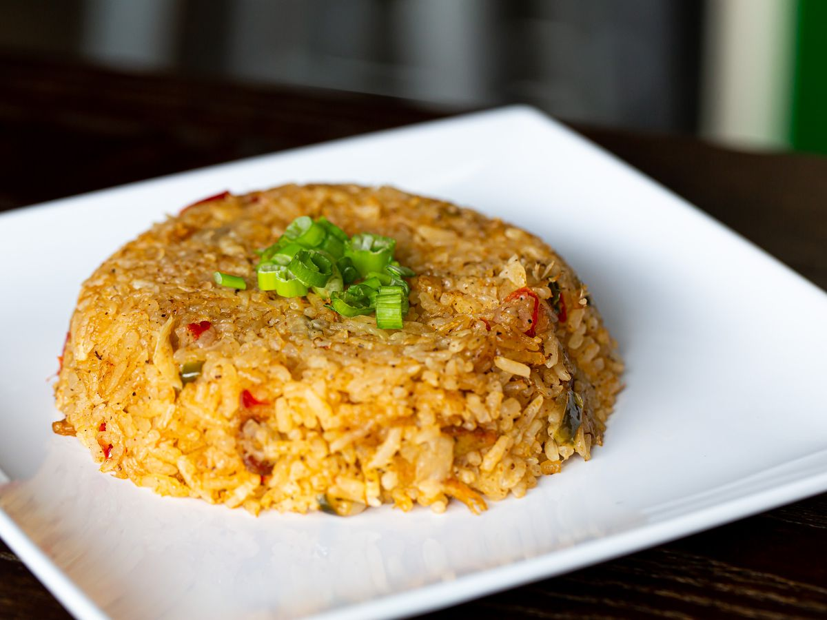 Crab rice at Virgil's in College Park