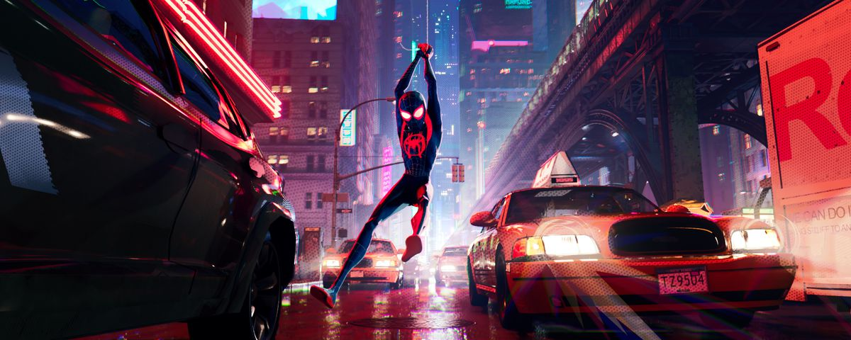 Spider Man Into The Spider Verse Review This Cartoon