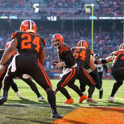 September 2019: Hooray for Color Rush! It was announced that the Browns had received special approval from the NFL to wear their Color Rush uniforms for six games during the 2019 season, another sign that their new uniforms might look something similar to them in 2020.