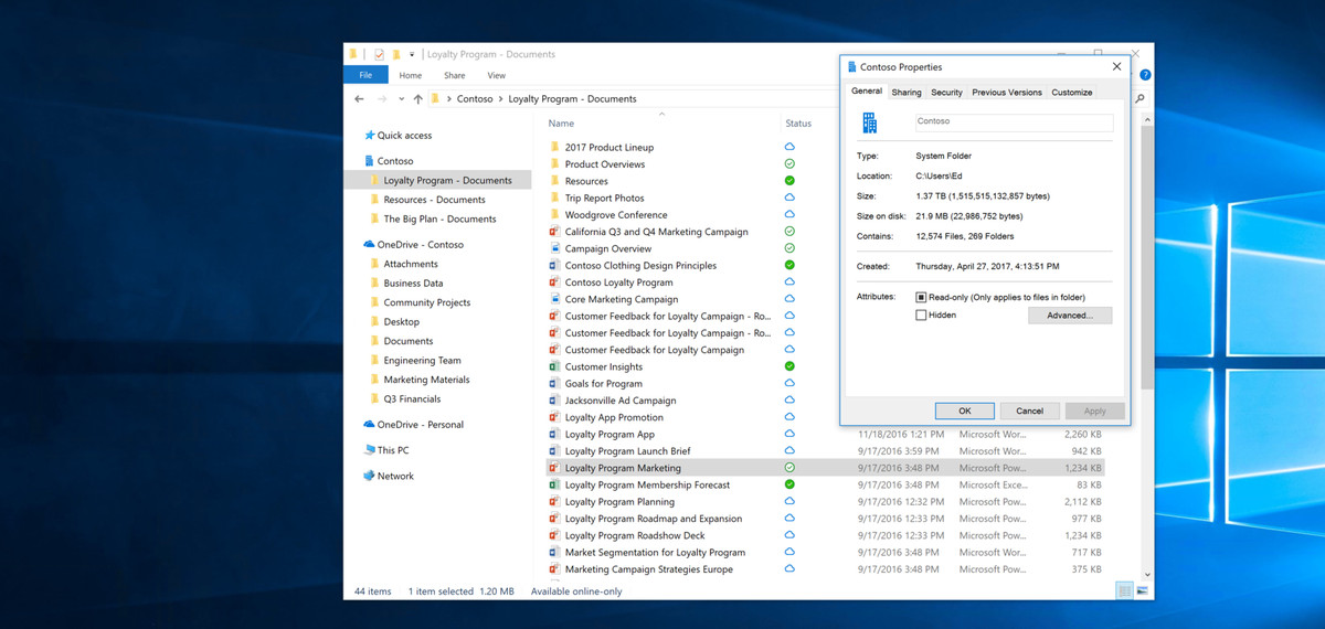 Microsoft's OneDrive Files On-Demand brings better sync