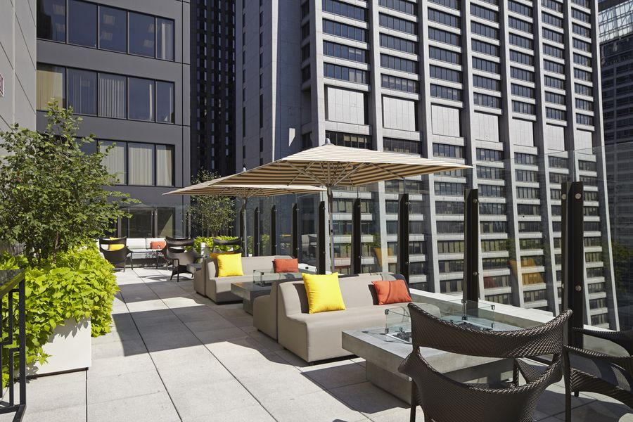Hyatt Centric Unveils Rooftop Lounge In The Loop - Eater ...