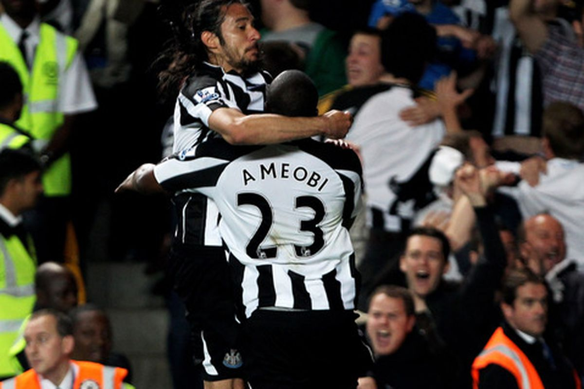 Newcastle scoring: Now with Shola!