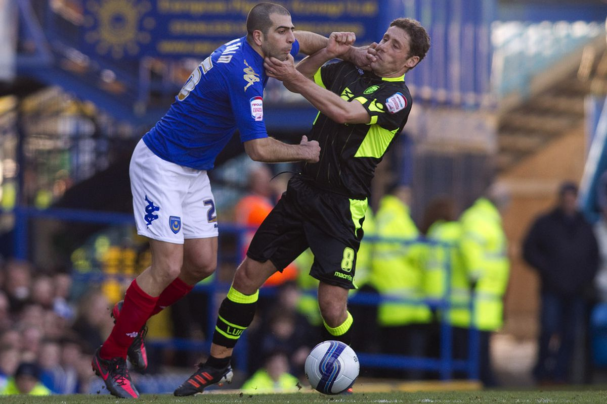 Michael Brown has today signed a new one year deal with Leeds United.(Photo by Ben Hoskins/Getty Images)