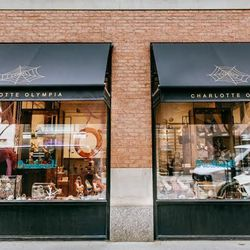 """<b>↑</b> A day shopping on the UES wouldn't be complete without a Madison Avenue stop, and <a href=""""http://www.charlotteolympia.com/""""><b>Charlotte Olympia</b></a> (22 East 65th Street) might be the most fun. The soaring platform pumps, quirky embroidered"""