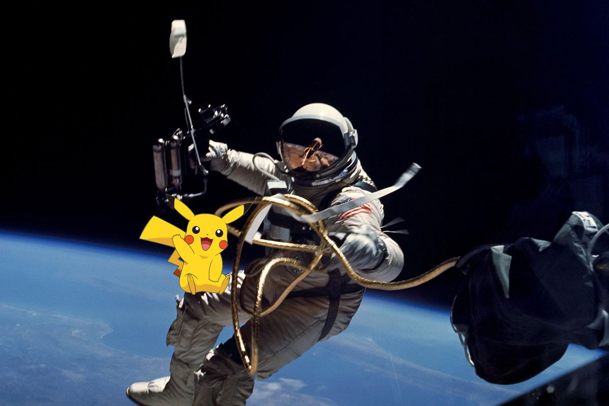 Can You Play Pokemon Go In Space NASA Says No Cannot