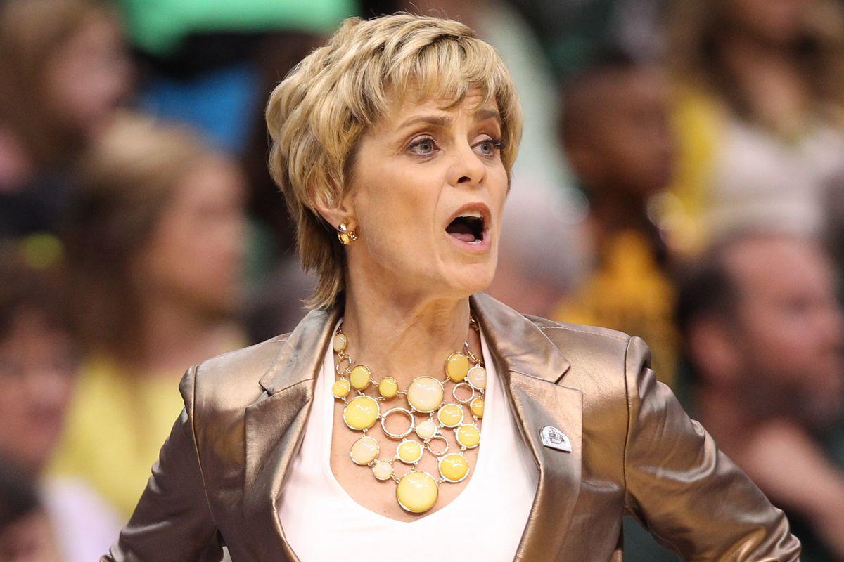 Baylor women's basketball coach Kim Mulkey