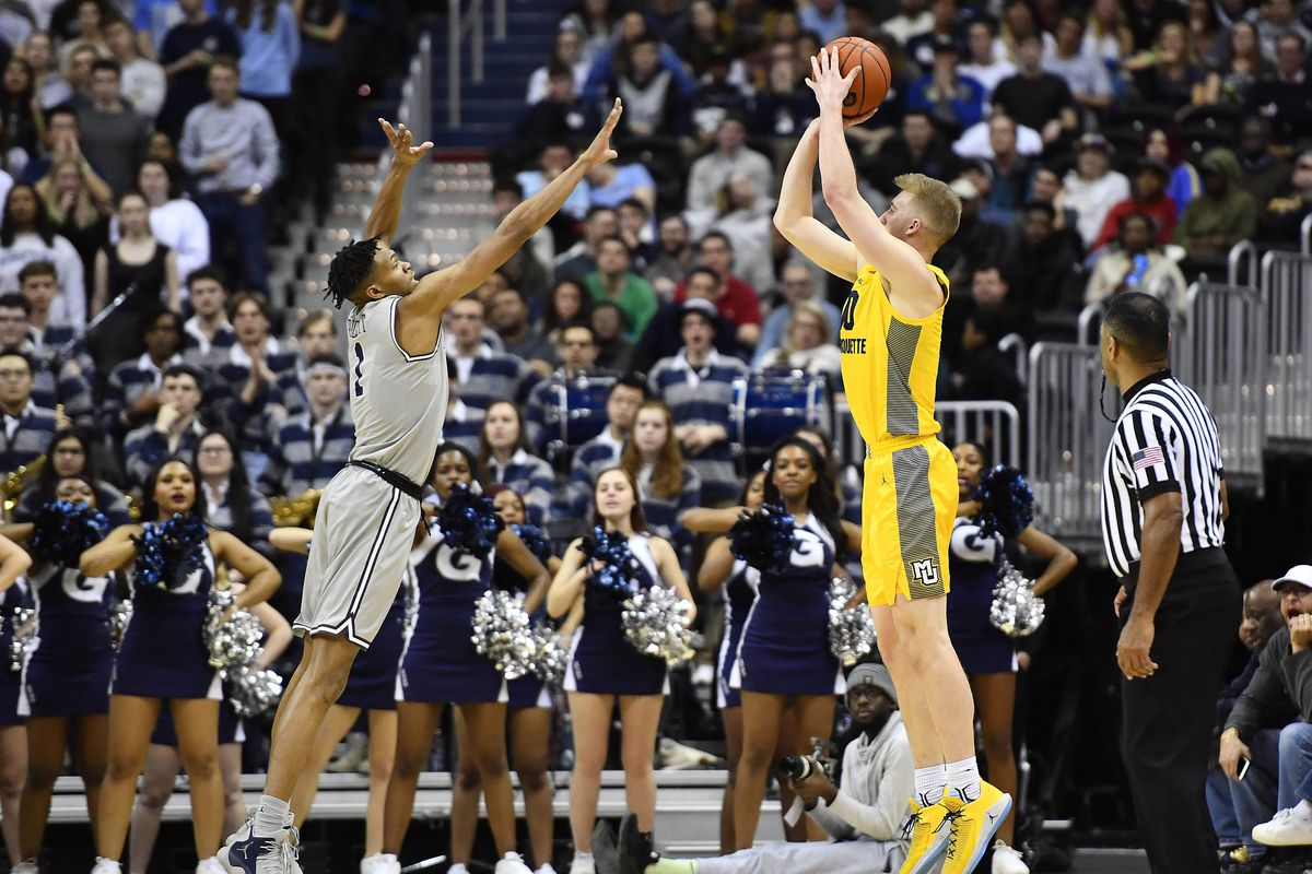 NCAA Basketball: Marquette at Georgetown