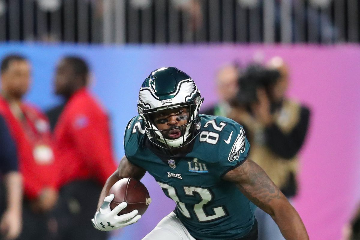 Eagles trade Torrey Smith to Panthers for CB Daryl Worley