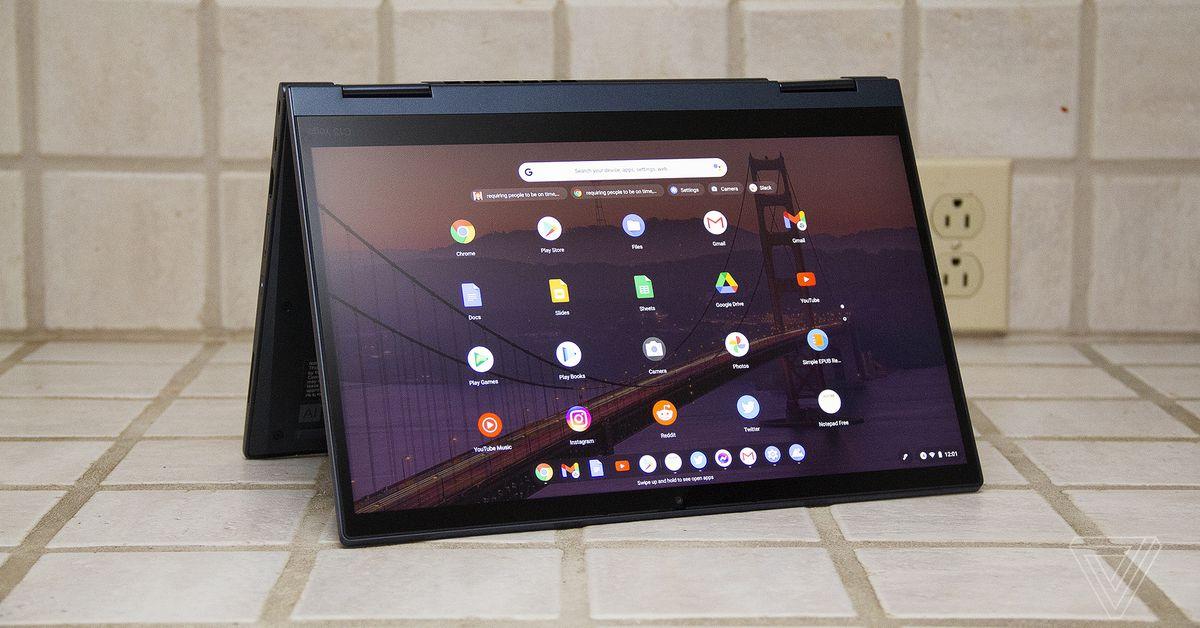 Lenovo ThinkPad C13 Yoga Chromebook review: a Chromebook for grown-ups - The Verge