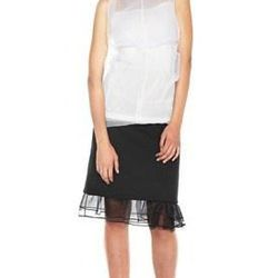"""<a href=""""http://www.marcjacobs.com/marc-jacobs/womens/ss12-and-re12-ready-to-wear/w41226651/crinkle-organza-sleeveless-shirt#?p=2&s=12"""">Crinkle Organza Sleeveless Shirt</a>, $390 (was $650)"""