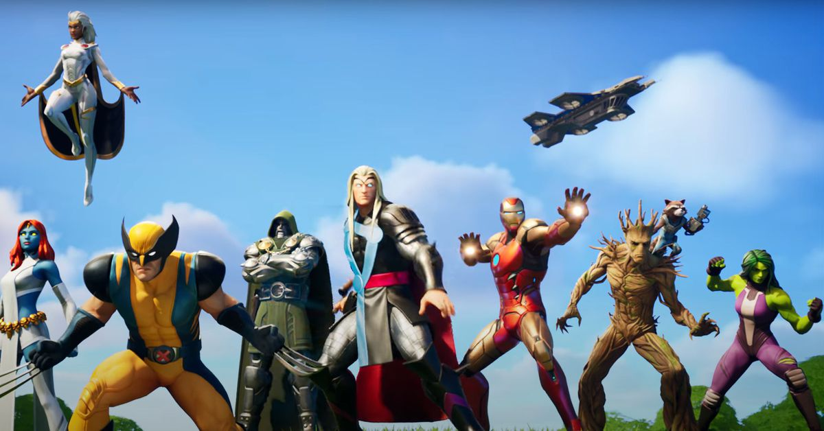 Fortnite's Chapter 2 season 4 Marvel cinematic and battle pass trailer – Polygon