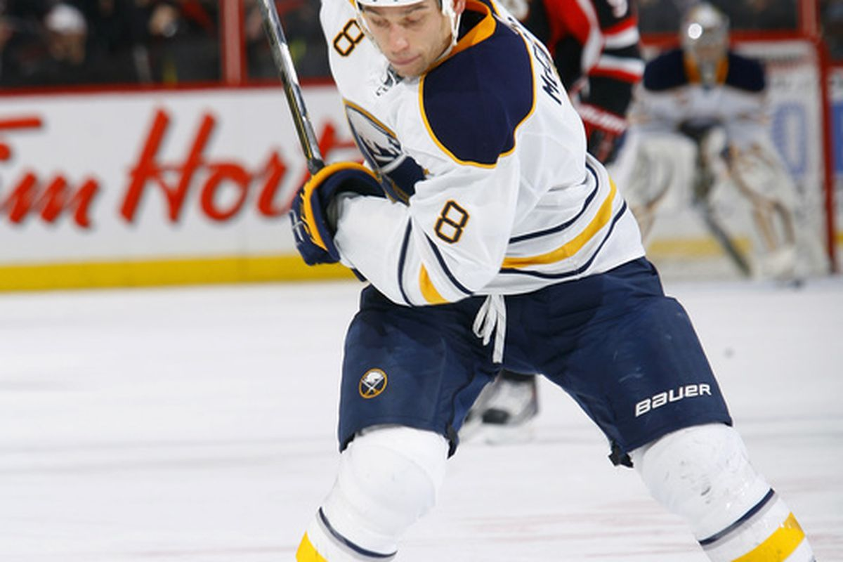 The Sabres playoff hopes will rest on the broad shoulders of this man.