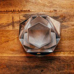 Large origami bowl, $40