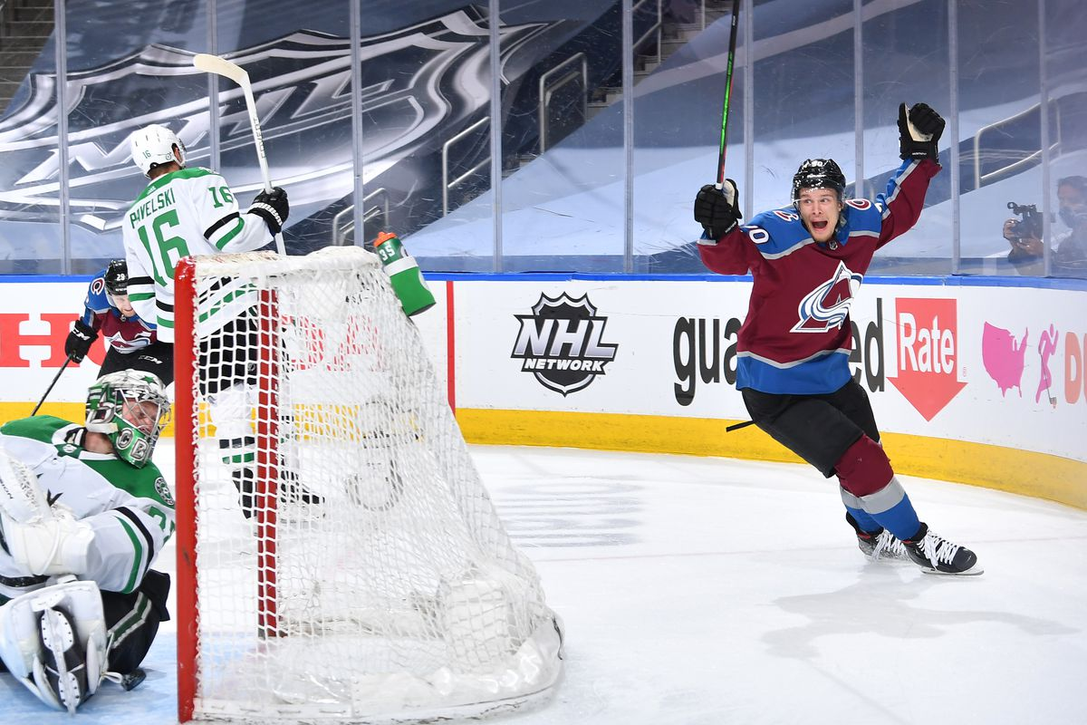 Dallas Stars v Colorado Avalanche - Game Seven