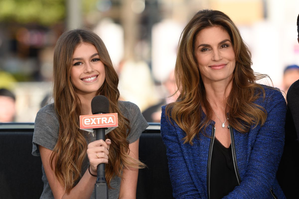 see cindy crawford and her daughter kaia gerber's full vogue