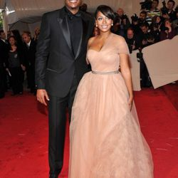 Carmelo Anthony and Lala Vasquez are completely adorable.
