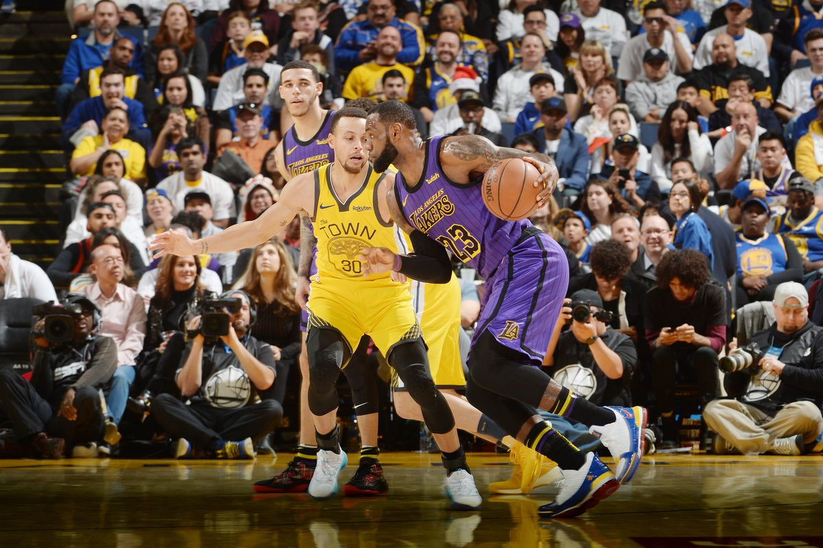 Nba Preseason Schedule Warriors Vs Lakers To Be On Tnt And