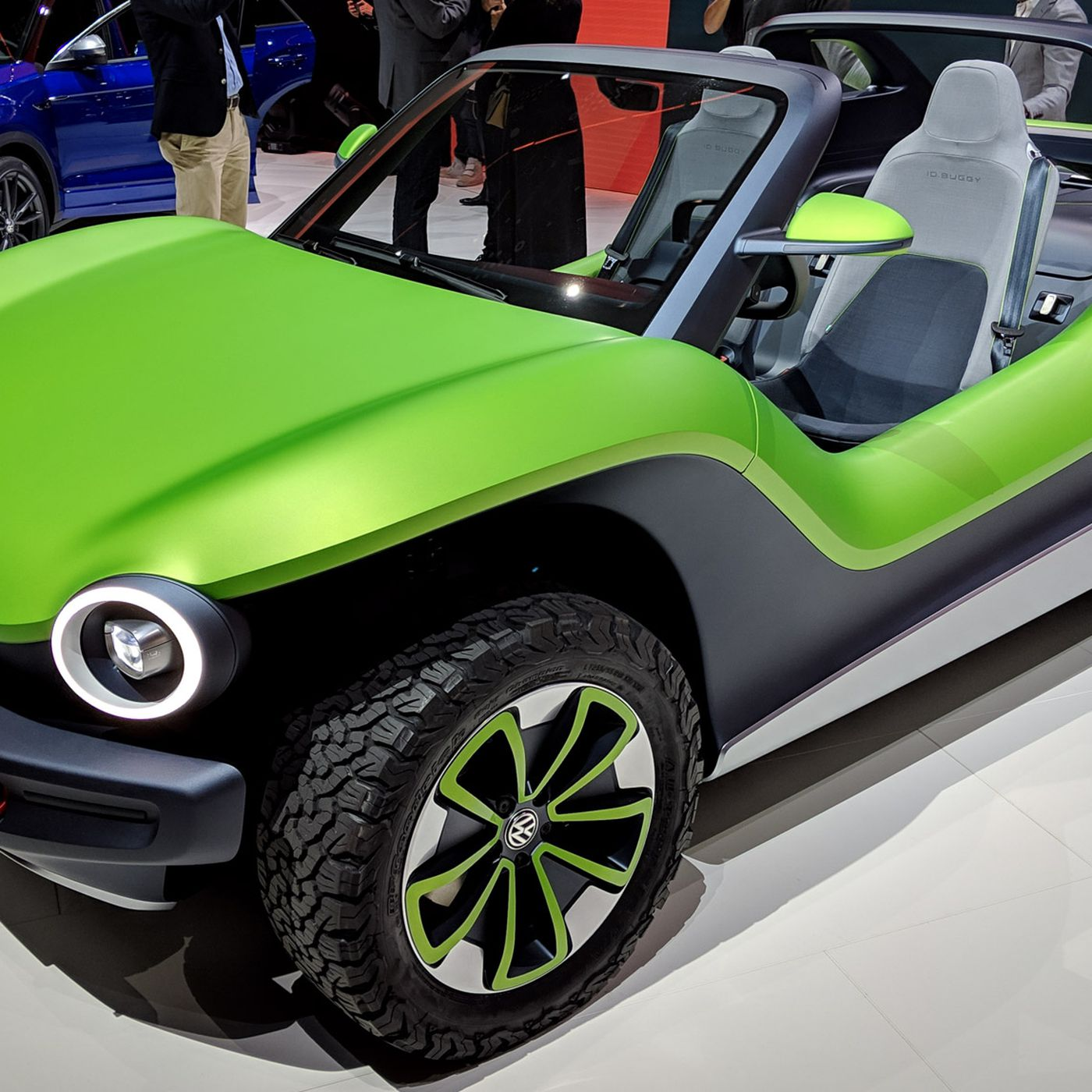 Vw Dune Buggy >> Vw Id Buggy Concept At Geneva Motor Show 2019 Technicolor