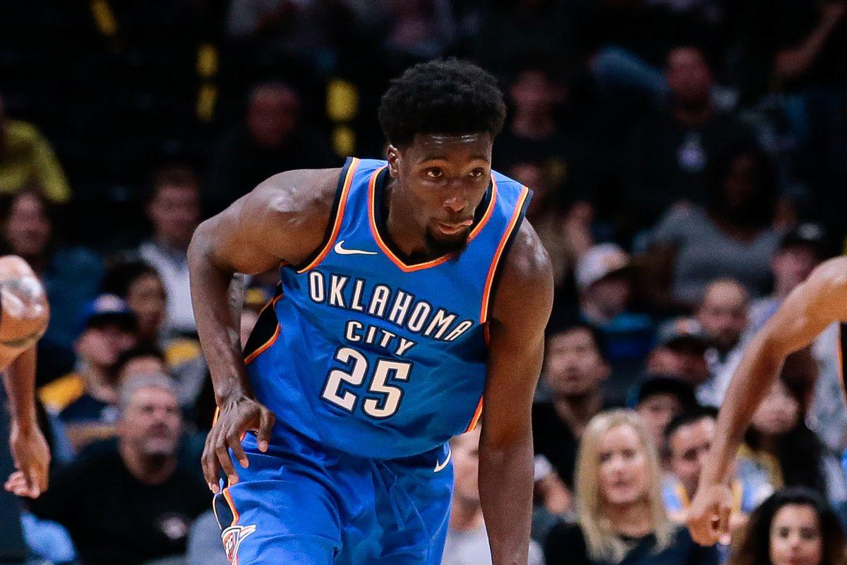 NBA: Preseason-Oklahoma City Thunder at Denver Nuggets