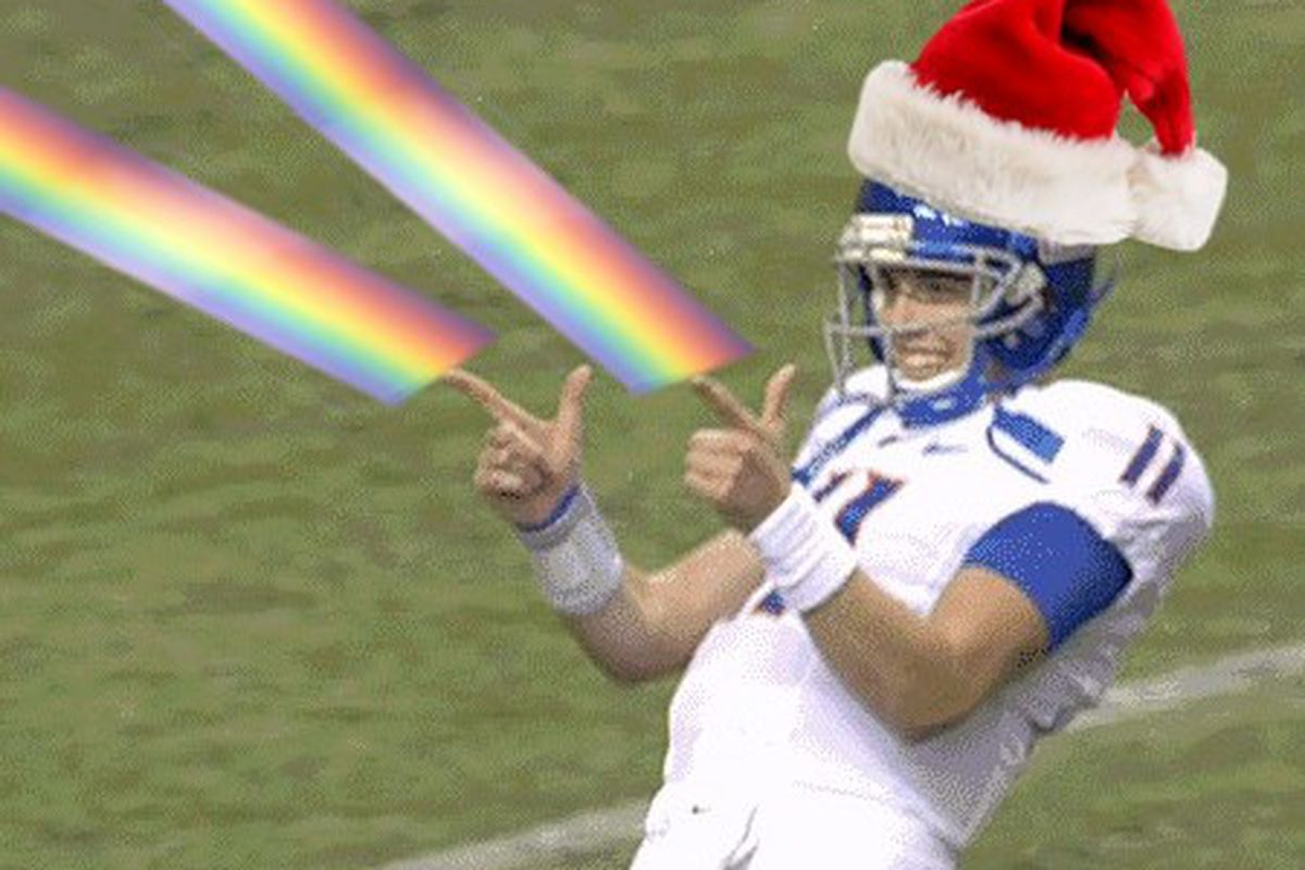 Merry Christmas to all, and to all, rainbows!