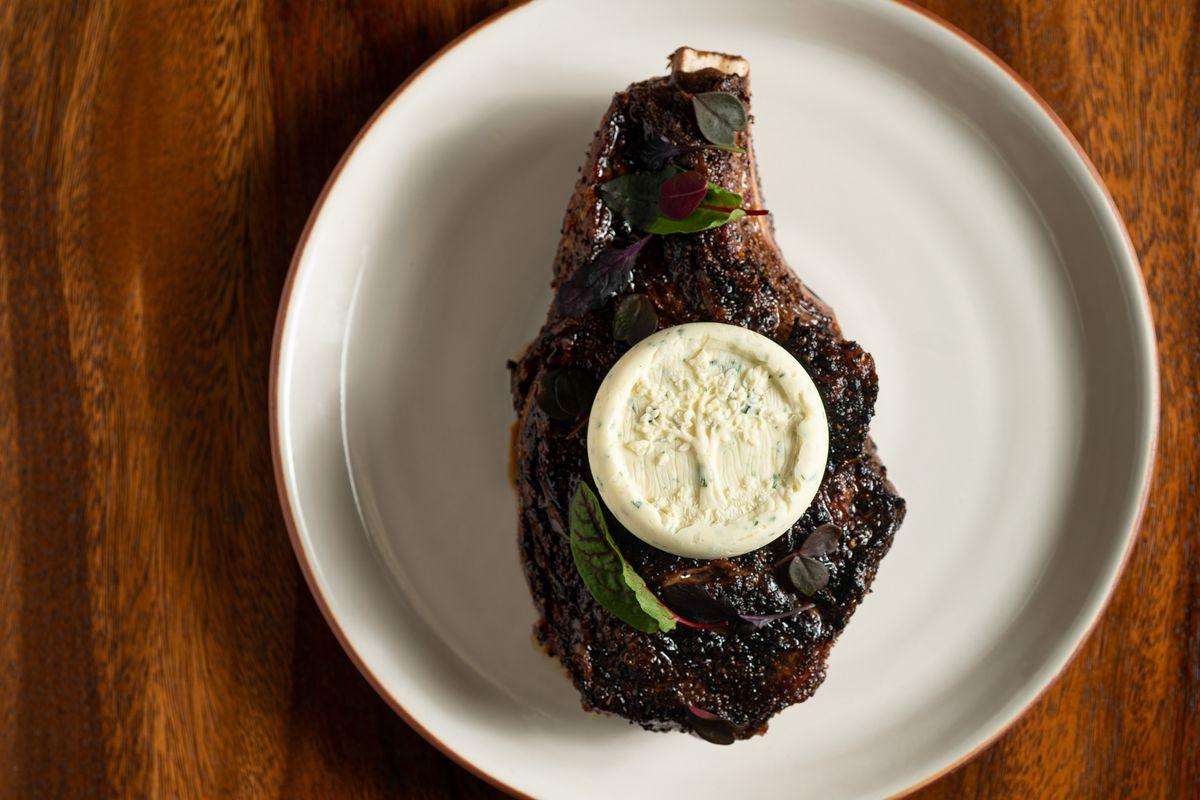 Richard Blais' Flannery Beef ribeye steak