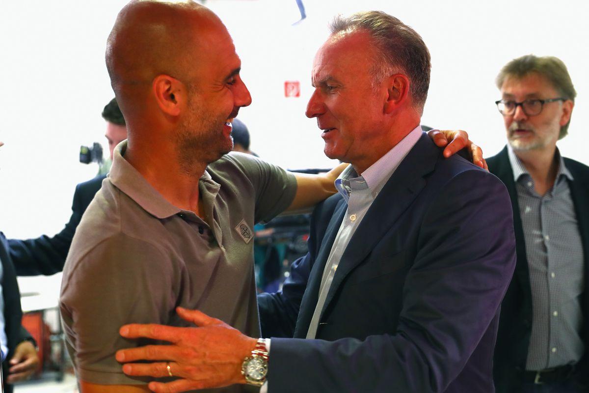 Bayern Muenchen v Manchester City F.C. - Friendly Match