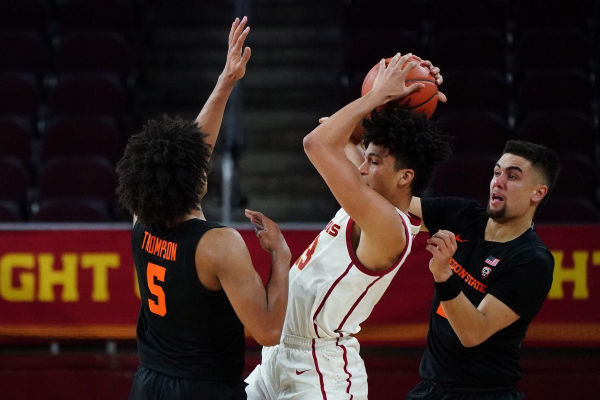 NCAA Basketball: Oregon State at Southern California