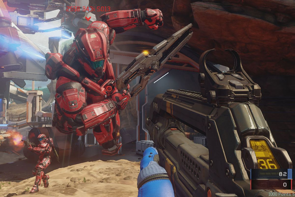 Its very hard to die in Halo 5: Guardians - Polygon