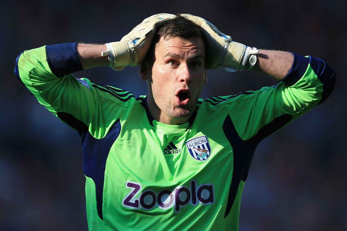 Foster's reaction after being dropped out from England's squad. Photo Credit