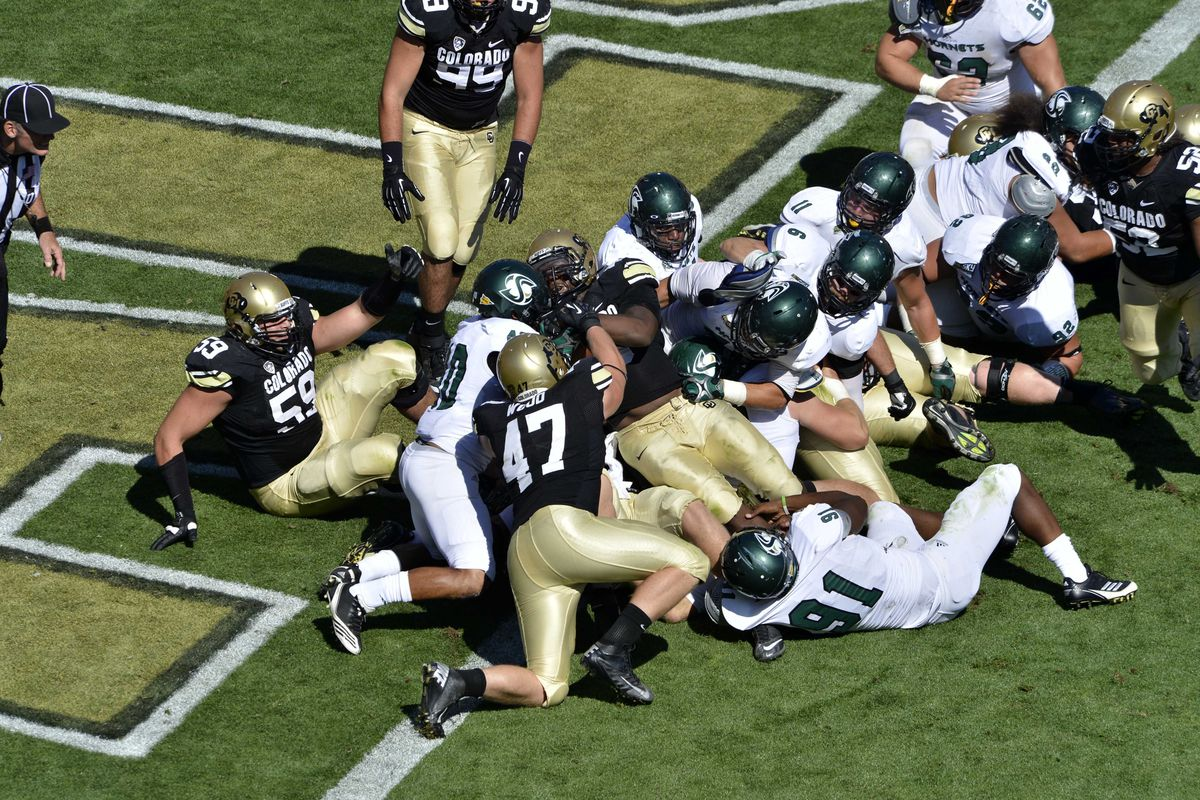 Ryan McMahon is in the middle of that pile somewhere.