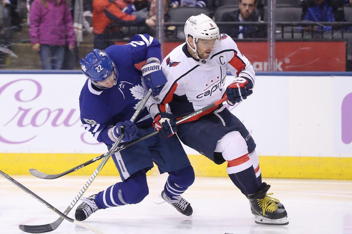 NHL: Washington Capitals at Toronto Maple Leafs