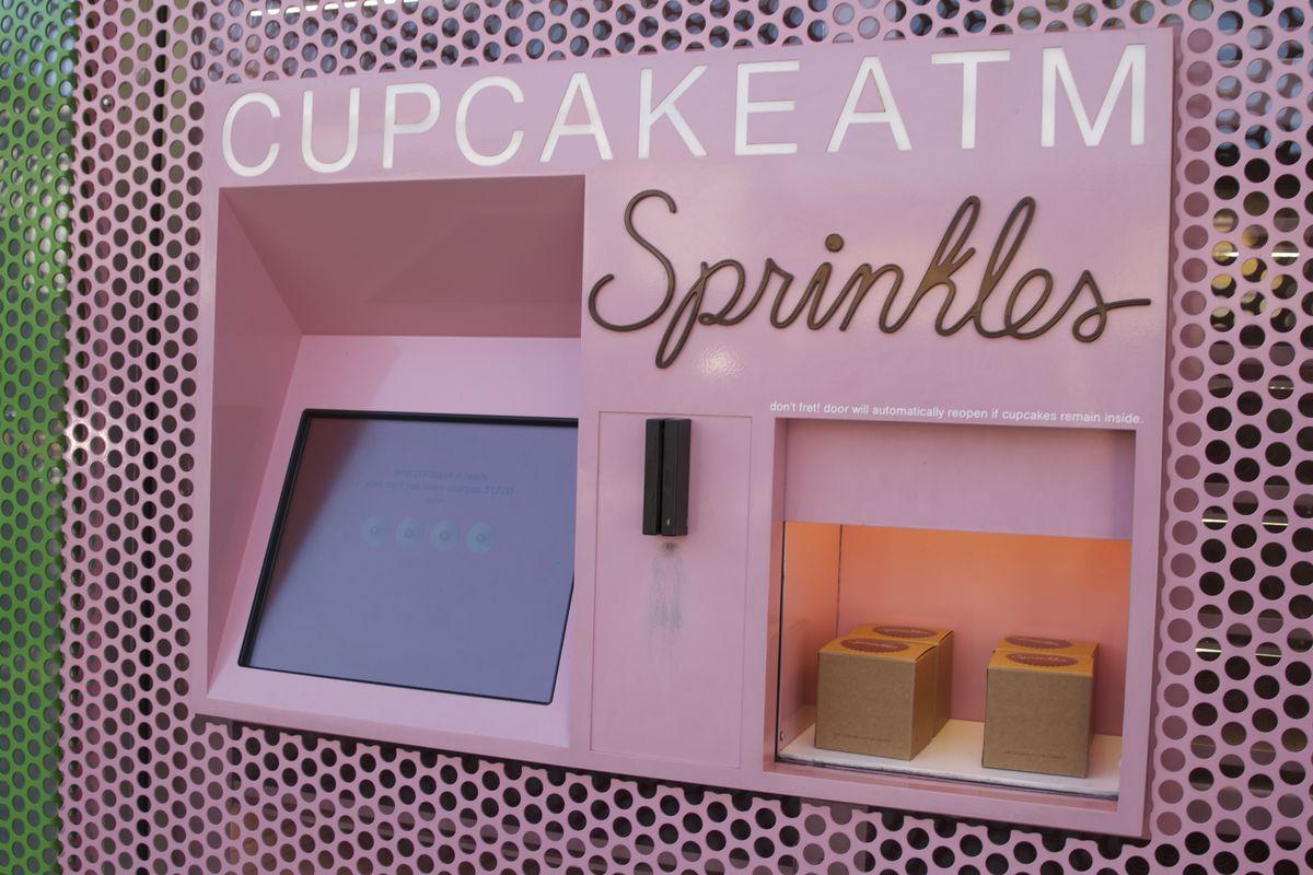 Sprinkles' cupcake ATM