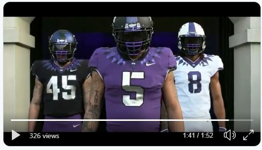"""bc91ddbe0 TCI is officially moving away from the """"Frogskin"""" look they've donned for  the last several seasons, and I know a slew of TCU fans who will be  seriously ..."""