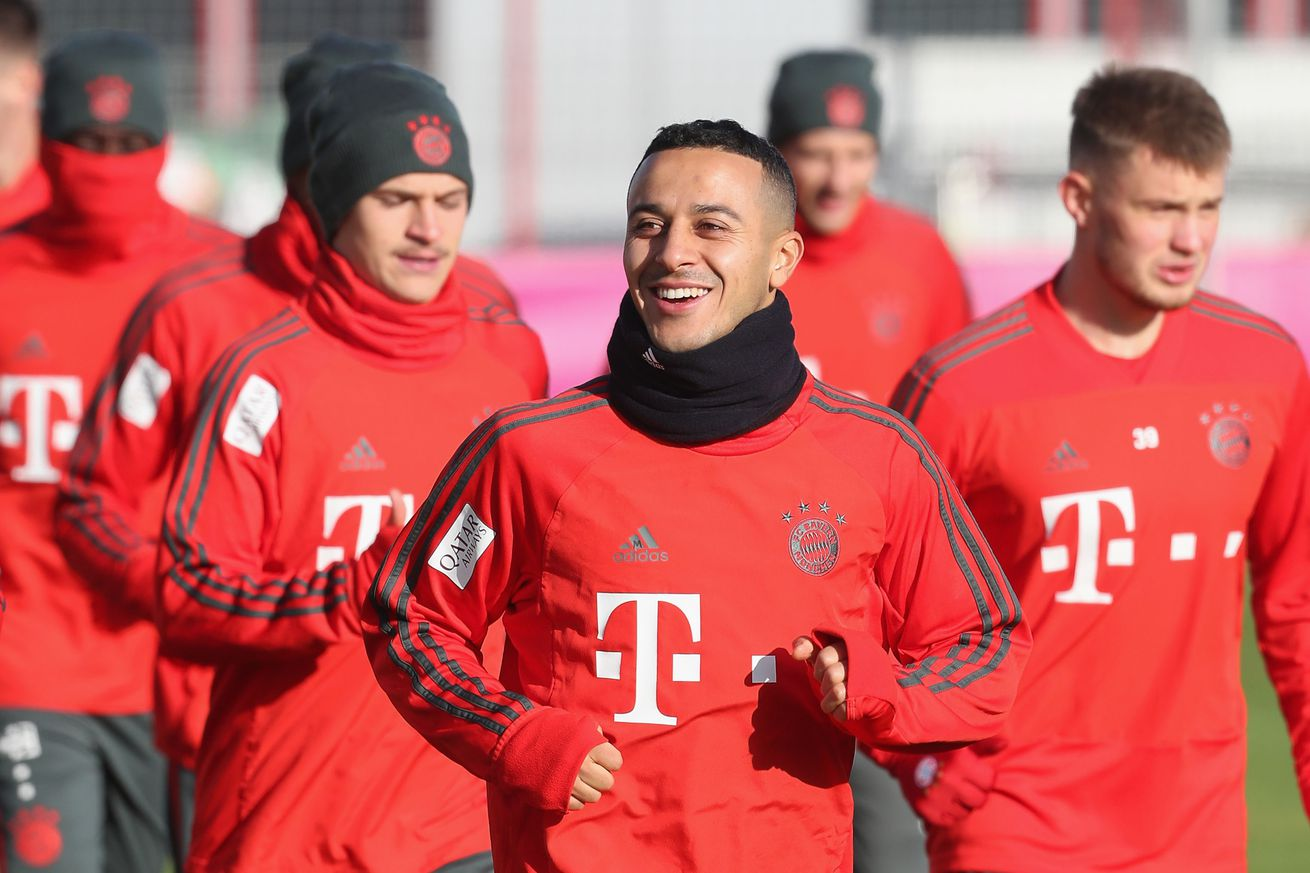 Bayern Munich team news and injury update after morning training session