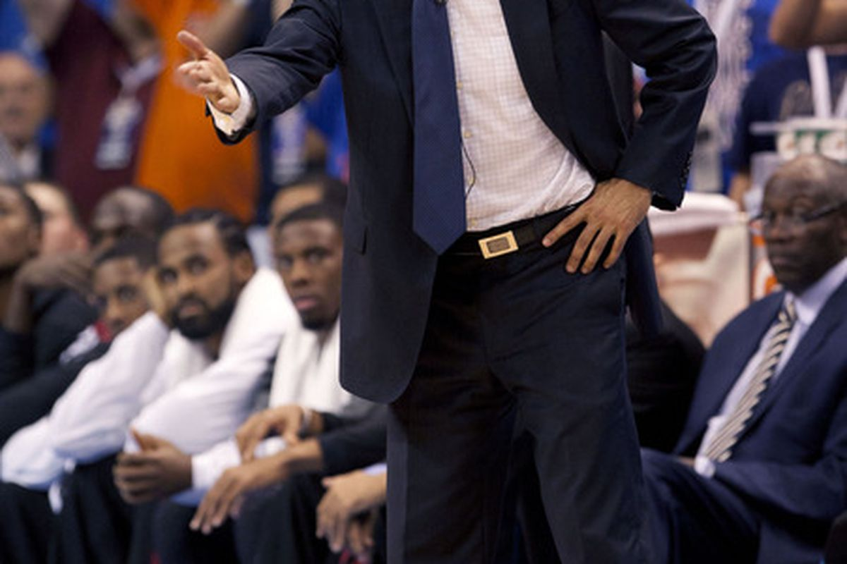 There's no question in my mind: Erik Spoelstra posed for this picture.