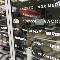 All of Vox Media's editorial networks: Vox, Eater, Racked, Curbed, SB Nation, Recode, The Verge and Polygon.