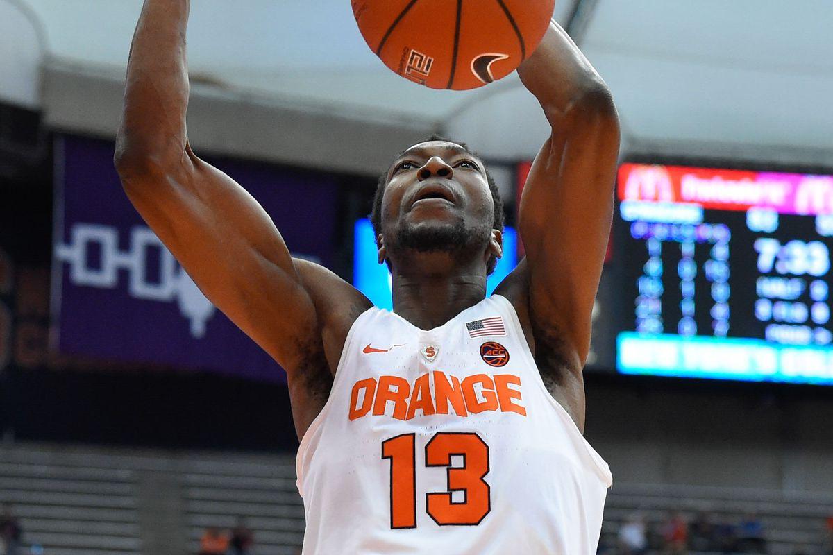 NCAA Basketball: Boston U at Syracuse