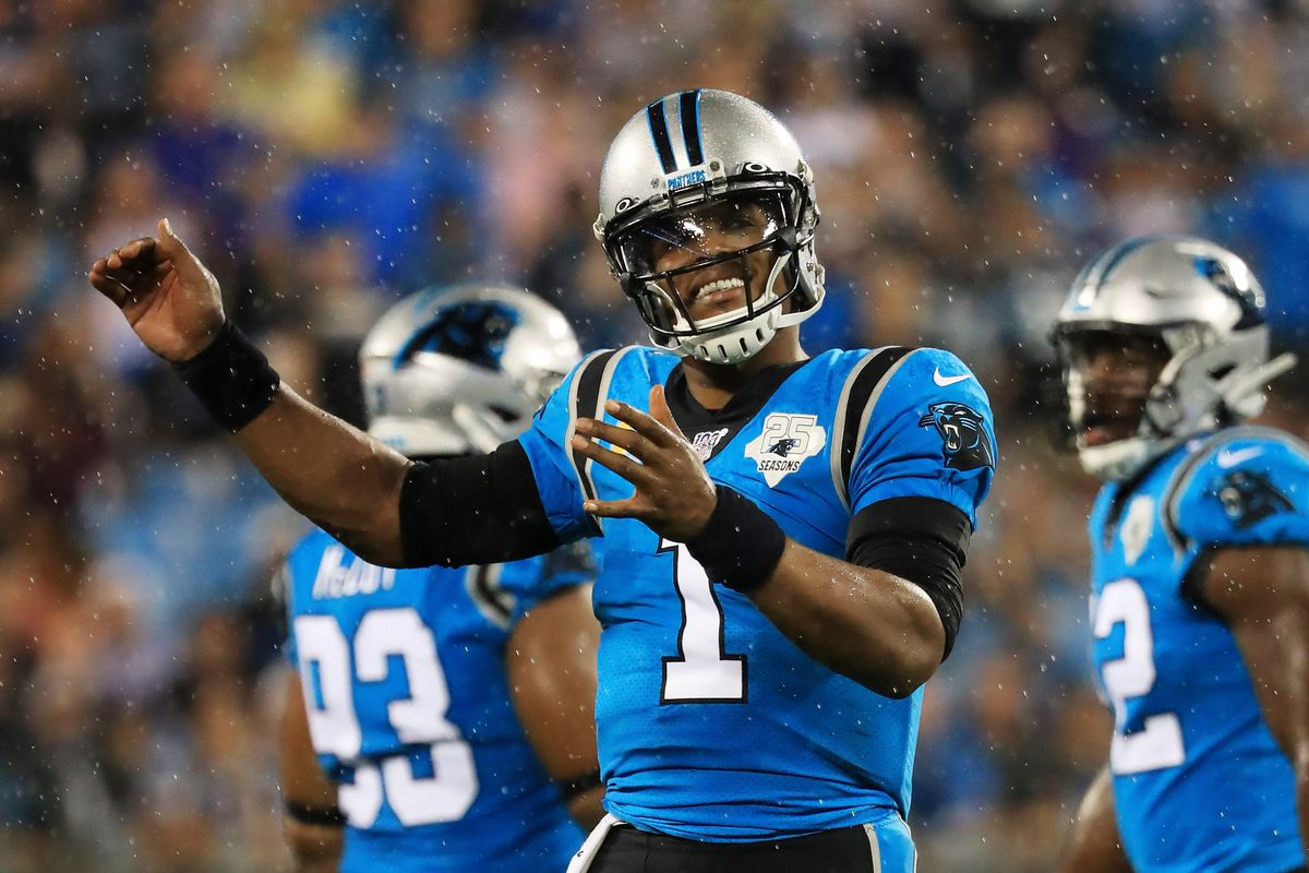 "Carolina Panthers quarterback Cam Newton had ""successful"" foot surgery"