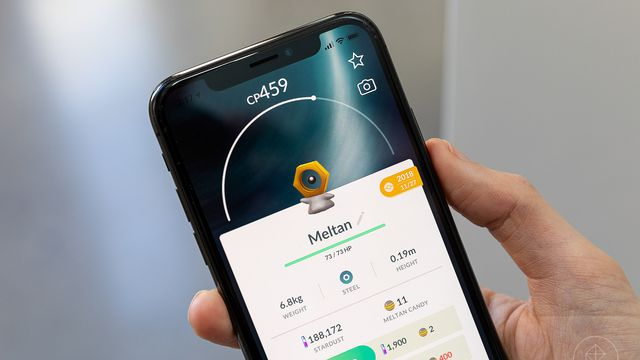 Pokémon Go is bringing back Shiny Meltan