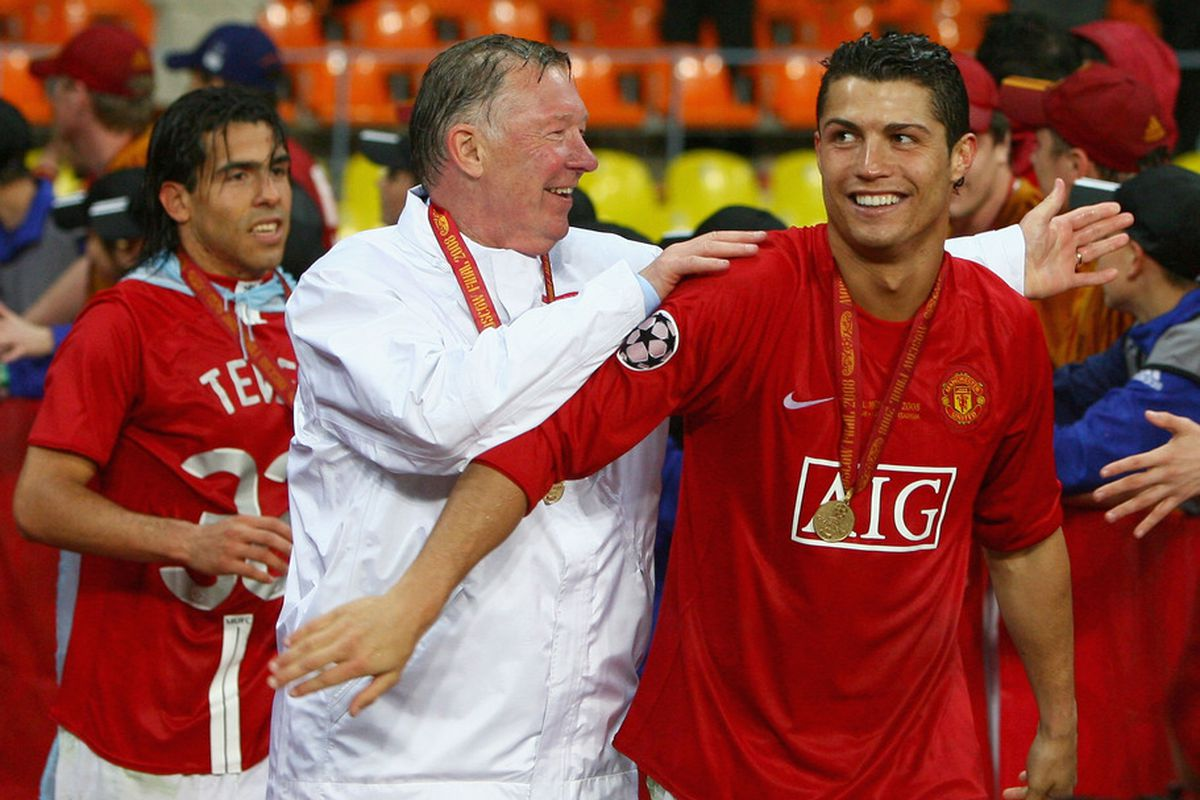 9a4cc052520 10 years ago today: Cristiano Ronaldo scores first goal for Manchester  United