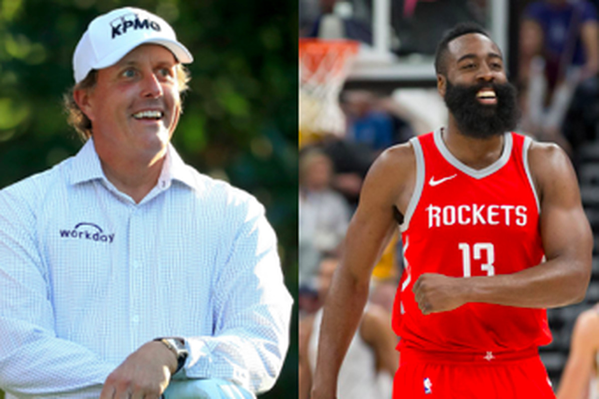 8dd8839f8c52 Maroon Madness Final Four  No. 1 Phil Mickelson vs. No. 1 James Harden
