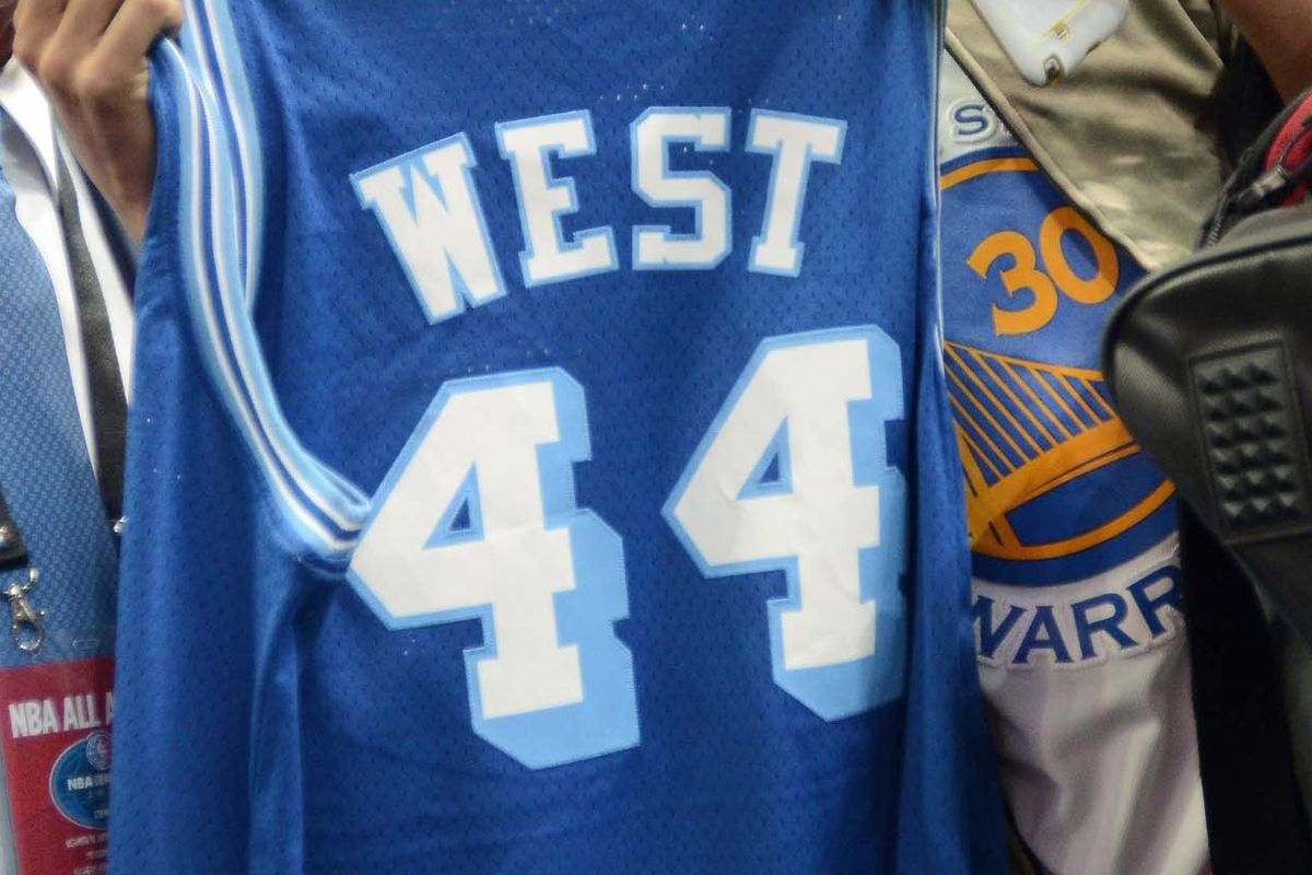 newest 44a77 5a2b4 Lakers Season Countdown: 44 days, Jerry West - Silver Screen ...