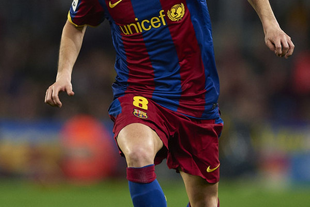 Iniesta has been given the medical green light.
