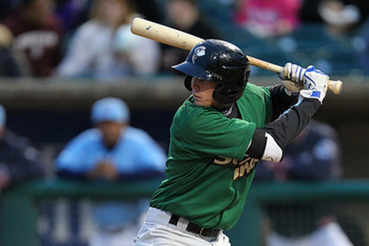 Savannah third baseman Jeff McNeil has been one of the bigger surprises in the Mets system so far in 2014.