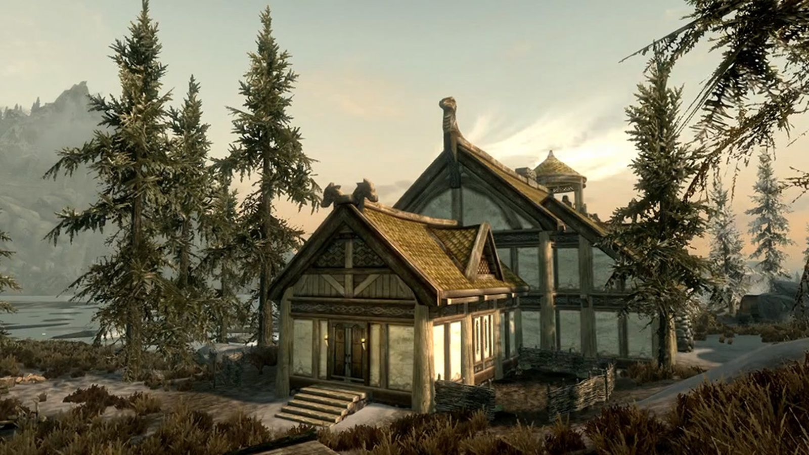 How To Build Houses In Skyrim Dlc