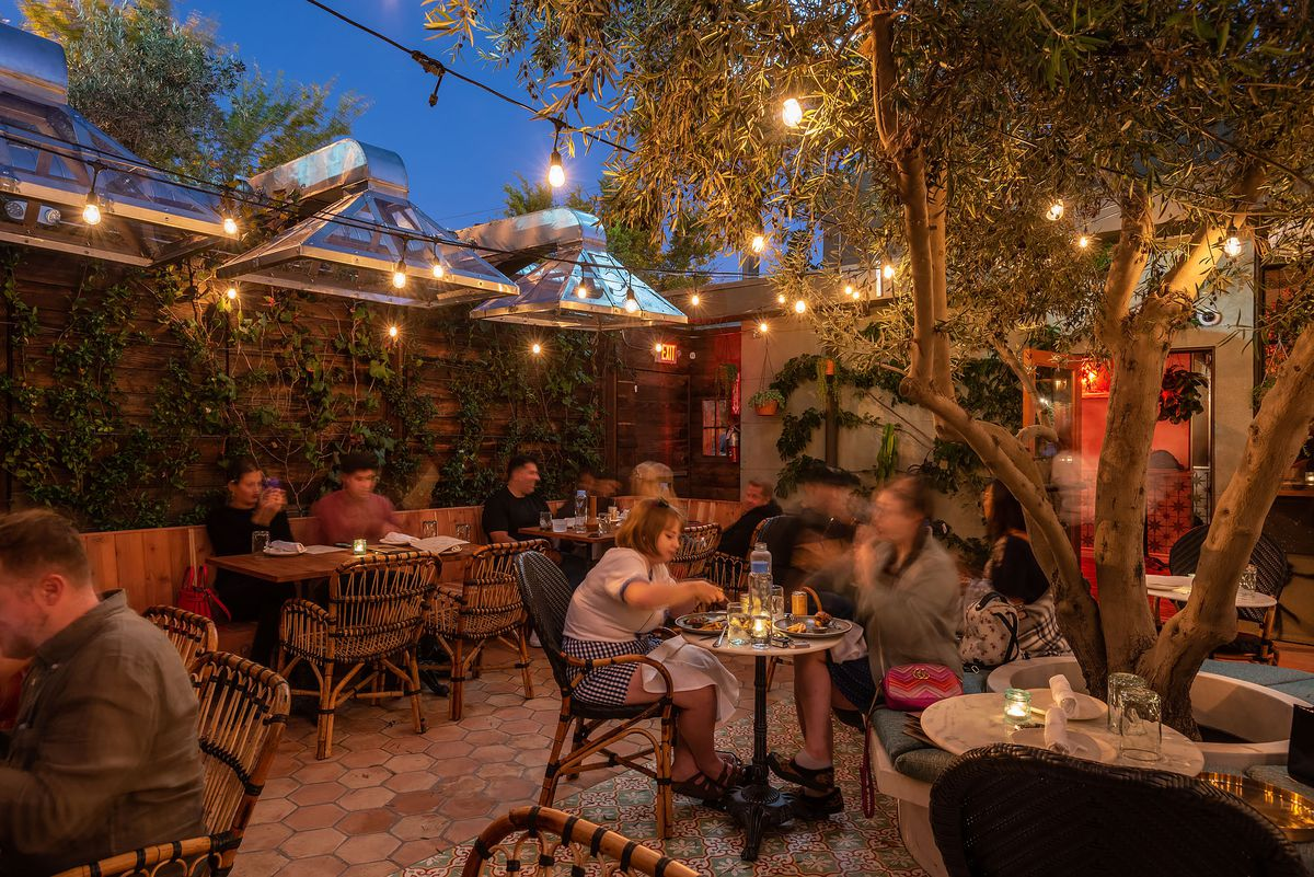 Original Cannabis Cafe, formerly Lowell Cafe, consumption lounge in West Hollywood welcomes in customers to eat and smoke.