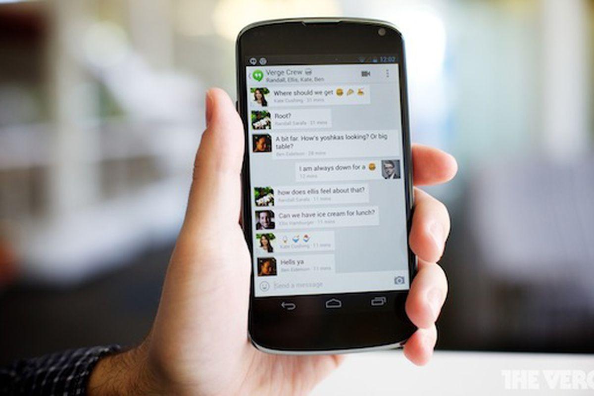 Google Hangouts 560