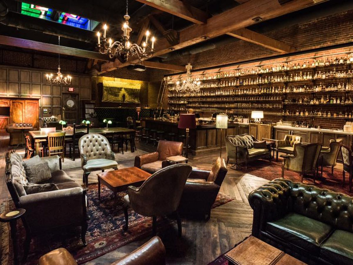 A picture of the Multnomah Whiskey Library