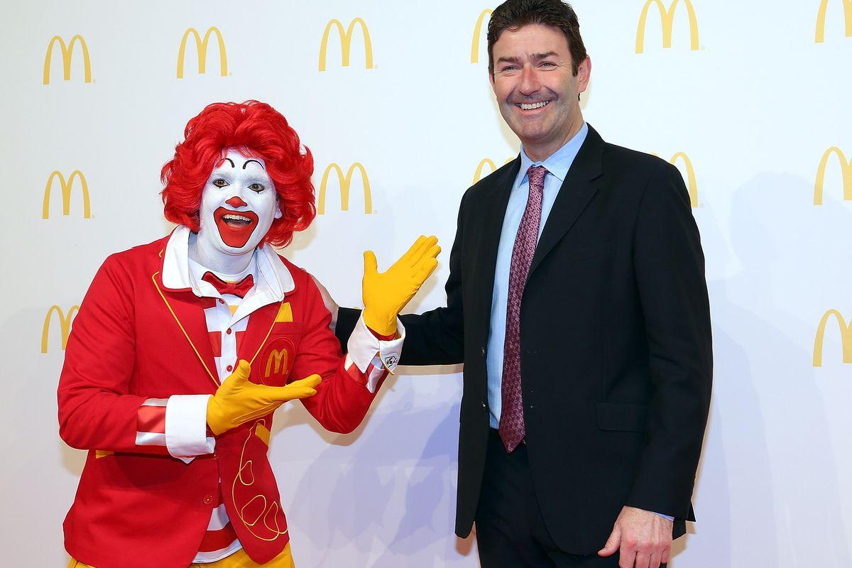 McDonald's CEO Sticks to His G...